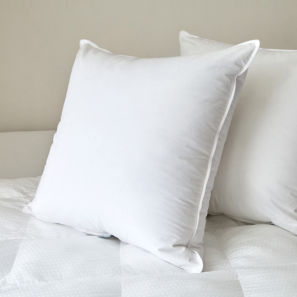 Feather Pillow Insert Extra Firm Czarre Fine Linens