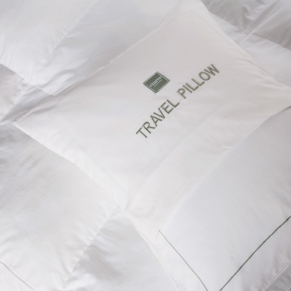 Fiber Travel Pillow - Czarre Fine Linens